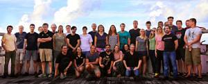 Gruppenbild der Wissenschaftler der SO263 (W. Borchert)