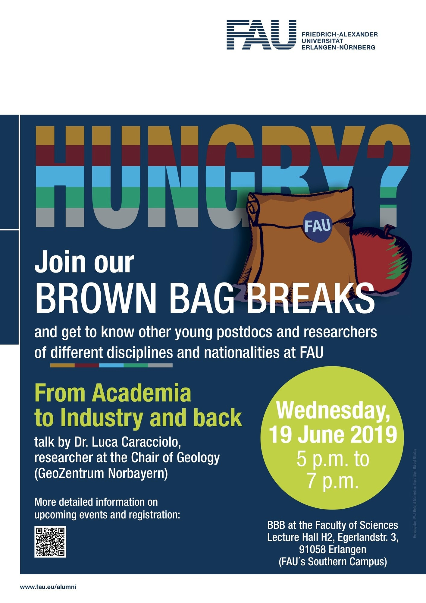 "Zum Artikel ""From Academia to Industry and back – Brown Bag Seminar Dr. L. Caracciolo"""