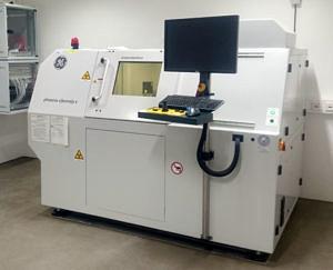 Mikro-Computer-Tomograph im Labor der Paläontologie