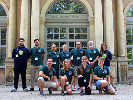 "Zum Artikel ""3rd International School on Sandstone Diagenesis"""